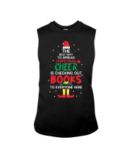 Librarian - The best way to spread Christmas Cheer Sleeveless Tee thumbnail
