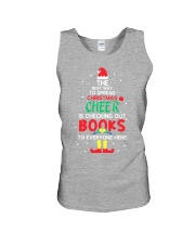 Librarian - The best way to spread Christmas Cheer Unisex Tank thumbnail