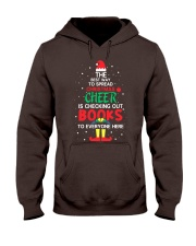 Librarian - The best way to spread Christmas Cheer Hooded Sweatshirt thumbnail