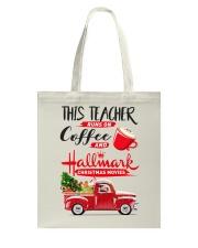 Teacher - Runs on Coffee Tote Bag thumbnail
