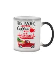 Teacher - Runs on Coffee Color Changing Mug thumbnail
