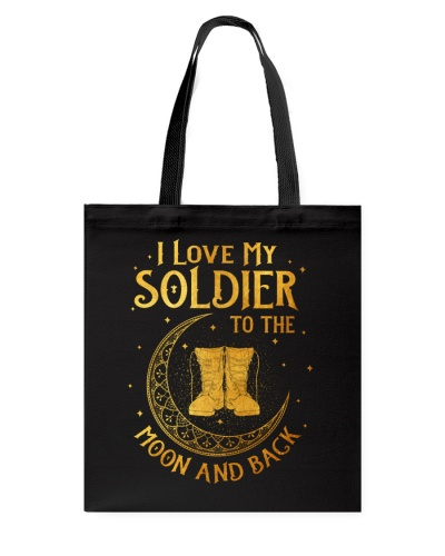 Veteran - Soldier - Moon and Back