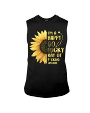 Nurse - Happy Go Lucky Ray Sleeveless Tee thumbnail