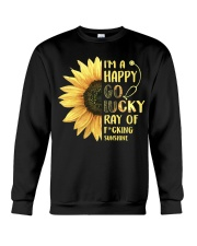 Nurse - Happy Go Lucky Ray Crewneck Sweatshirt thumbnail