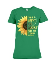 Nurse - Happy Go Lucky Ray Premium Fit Ladies Tee thumbnail