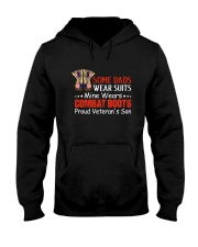 Proud Veteran's Son Hooded Sweatshirt thumbnail