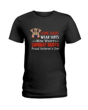 Proud Veteran's Son Ladies T-Shirt thumbnail