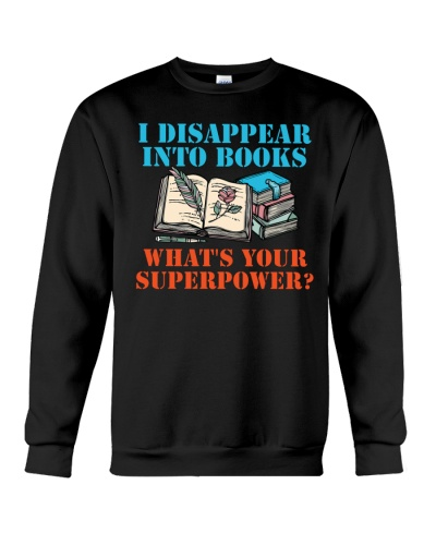 Librarian - I Disappear into Books