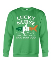 Lucky Nurse Shark - Saint Patrick's Day Crewneck Sweatshirt thumbnail