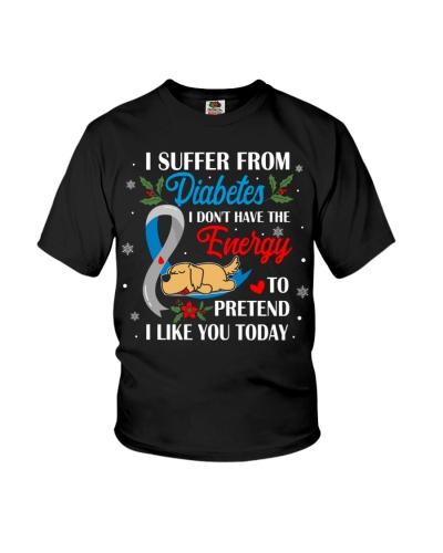 Diabetes - Christmas Love Dog