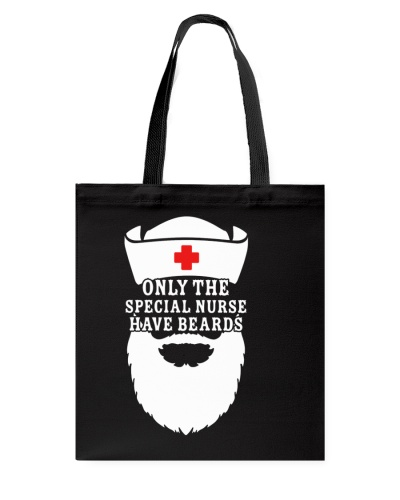 Nurse shirt - Bearded Nurse - Christmas gift