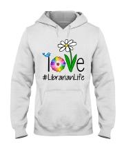 Love Librarian Life Hooded Sweatshirt thumbnail