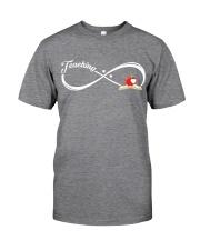 Teacher - Teaching Forever Classic T-Shirt tile