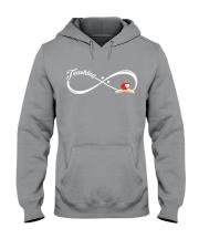 Teacher - Teaching Forever Hooded Sweatshirt thumbnail