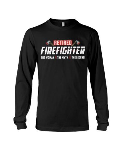 Retired Firefighter - Woman Legend