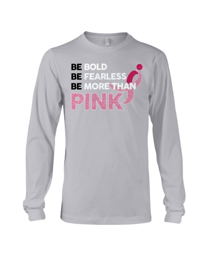 Breast Cancer - Be More Than Pink