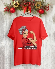 Tennessee Strong Teacher - RedforED Classic T-Shirt lifestyle-holiday-crewneck-front-2