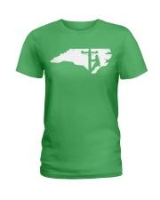 Lineman - North Carolina Map Ladies T-Shirt thumbnail