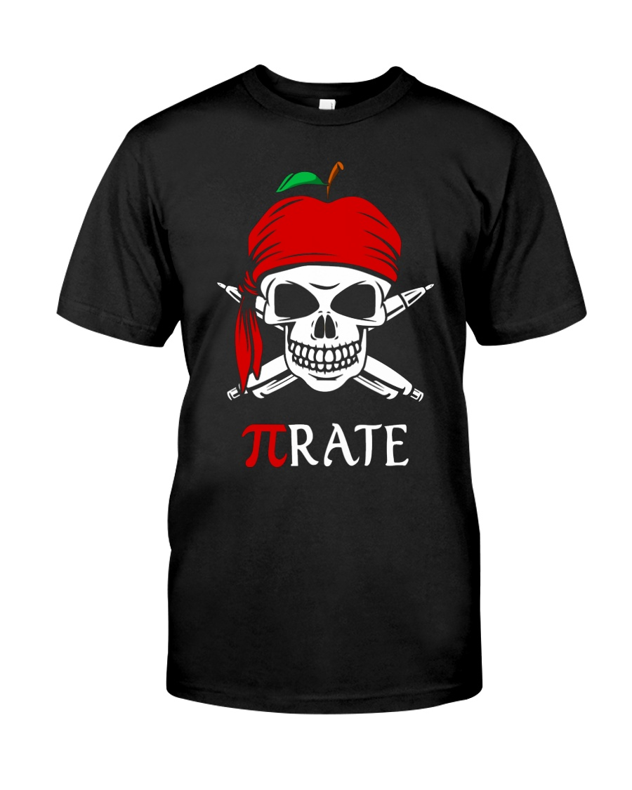 Pirate Math Teacher Classic T-Shirt