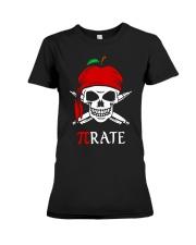 Pirate Math Teacher Premium Fit Ladies Tee thumbnail