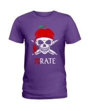 Pirate Math Teacher Ladies T-Shirt thumbnail