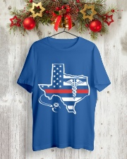 Nurse - Texas Flag Shirt Classic T-Shirt lifestyle-holiday-crewneck-front-2