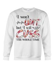 Nurse - Cuss The Whole Time Crewneck Sweatshirt thumbnail