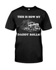 Truck - Daddy Rolls Classic T-Shirt thumbnail
