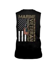 Marine Veteran - American Flag and Dogtag - USMC Sleeveless Tee thumbnail