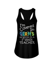 First Grade Teacher - I'm covered in Germs Ladies Flowy Tank thumbnail