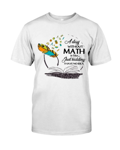 Math Teacher - Just kidding