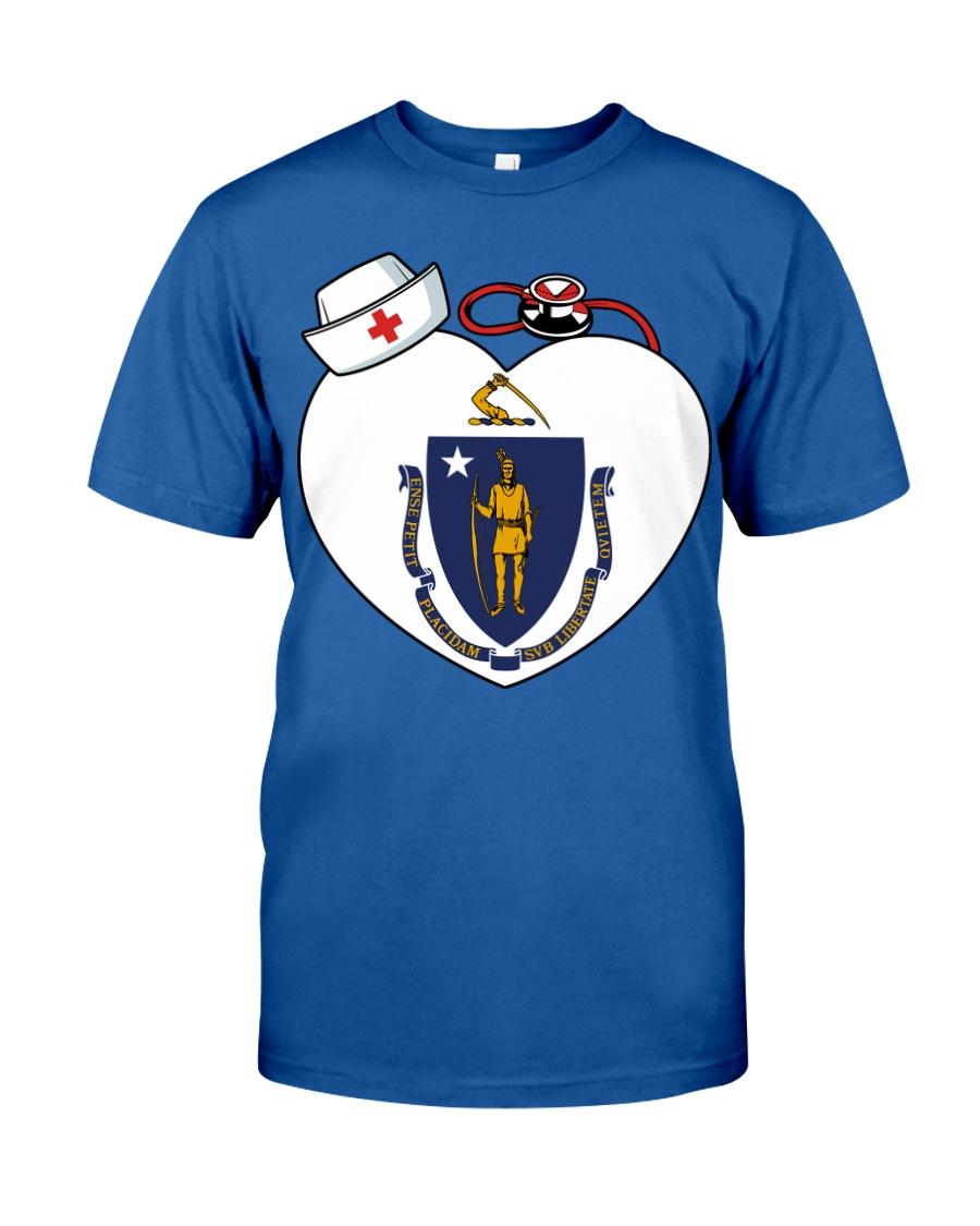 Nurse - National Nurse Week for Masschusetts Classic T-Shirt