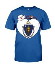 Nurse - National Nurse Week for Masschusetts Classic T-Shirt front