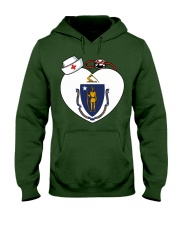 Nurse - National Nurse Week for Masschusetts Hooded Sweatshirt thumbnail