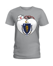 Nurse - National Nurse Week for Masschusetts Ladies T-Shirt thumbnail