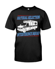 Natural Selection Interference Squad Classic T-Shirt front