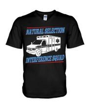 Natural Selection Interference Squad V-Neck T-Shirt thumbnail