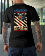 Retired Firefighter Classic T-Shirt lifestyle-mens-crewneck-back-3