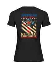 Retired Firefighter Premium Fit Ladies Tee thumbnail