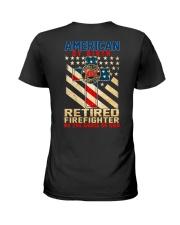 Retired Firefighter Ladies T-Shirt thumbnail