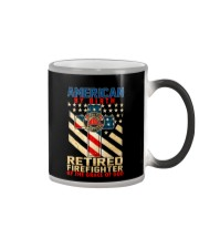Retired Firefighter Color Changing Mug thumbnail