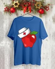 National School Nurse Classic T-Shirt lifestyle-holiday-crewneck-front-2