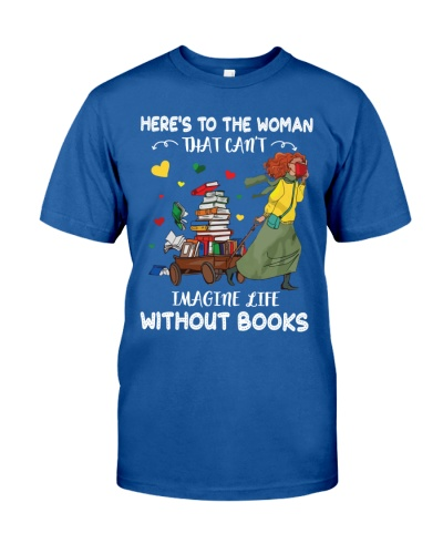 Librarian - Can't Imagine Life Without Books