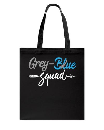 Diabetes - Grey - Blue Squad