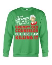 Grumpy Old Counselor Crewneck Sweatshirt thumbnail