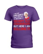 Grumpy Old Counselor Ladies T-Shirt thumbnail