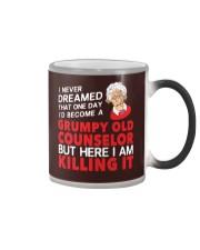 Grumpy Old Counselor Color Changing Mug thumbnail
