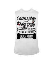 Counselor - Stay at Home Dog Mom Sleeveless Tee thumbnail