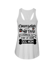 Counselor - Stay at Home Dog Mom Ladies Flowy Tank thumbnail