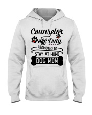 Counselor - Stay at Home Dog Mom Hooded Sweatshirt thumbnail